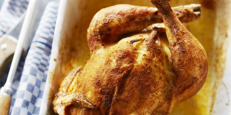 Boodschappen - Gevulde kip uit de oven
