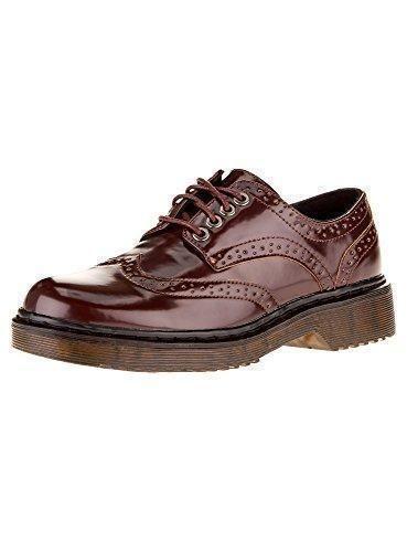 Oferta: 28.3€. Comprar Ofertas de oodji Collection Mujer Zapatos Tipo Oxford de Piel Sintética, Rojo, 38 EU / 5 UK barato. ¡Mira las ofertas!