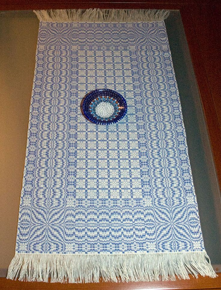 Basket Weave Table Runner Pattern : Best loom weaving with fibers images on