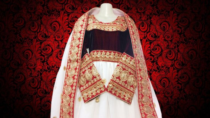 Afghan Style Robe In White Colour Pashtun Singer Lengthy Costume