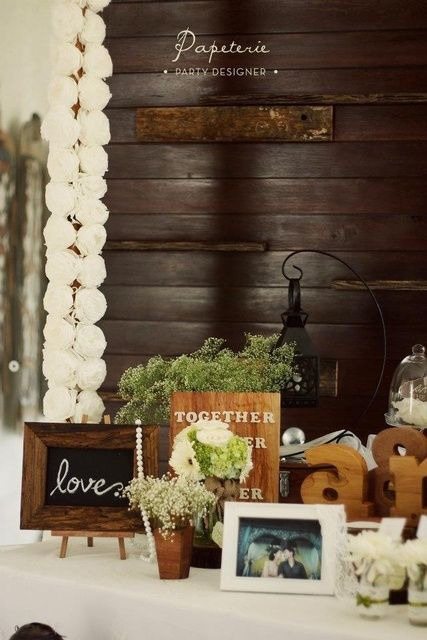 """Photo 1 of 12: Rustic / Wedding """"Andri & Marcella's Lovely Rustic Wedding"""" 