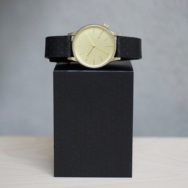 @komono's Winston Black Zirconium. The straightforward option for a complicated era. Shop now at http://theassemblystore.com/! #theassemblystore #komono #fashion #style #timepiece