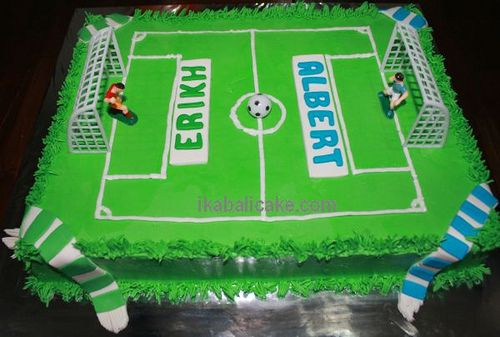 IKA Bali Cake Birthday Soccer Game