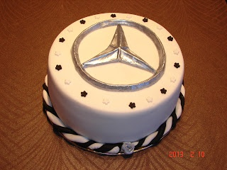11 Best Mercedes Benz Cake 7th Birthday Images On