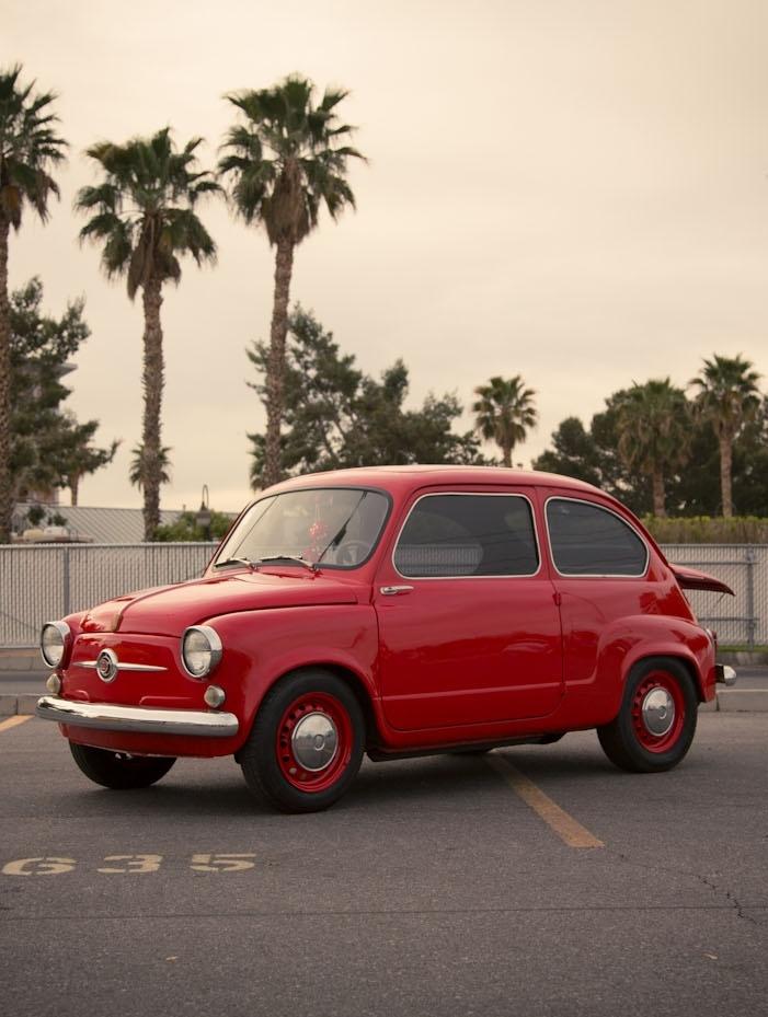 Fiat 600 die van ons was groen