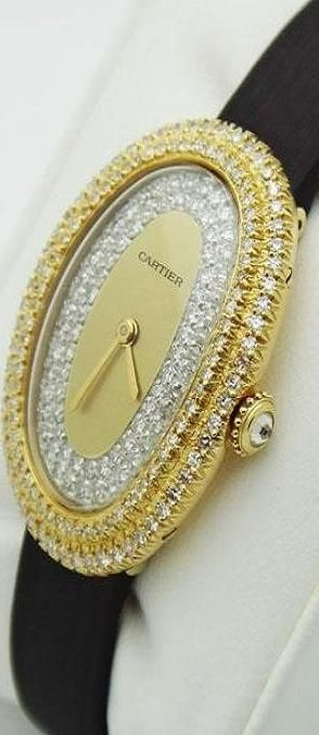Cartier-Paris-Baignore-Ladys-Watch♥✤ | Keep the Smiling | BeStayBeautiful