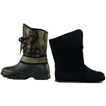 Winter Warm Men Snow Boots 1800D Oxford Waterproof Fabric Fishing Skiing Half Boots Sale - Banggood.com