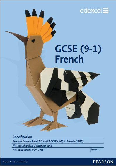 edexcel french discursive essay Edexcel english literature igcse (4et1) specification exam june 2018  onwards  edexcel gce research based essay guide french find this pin and  more on.