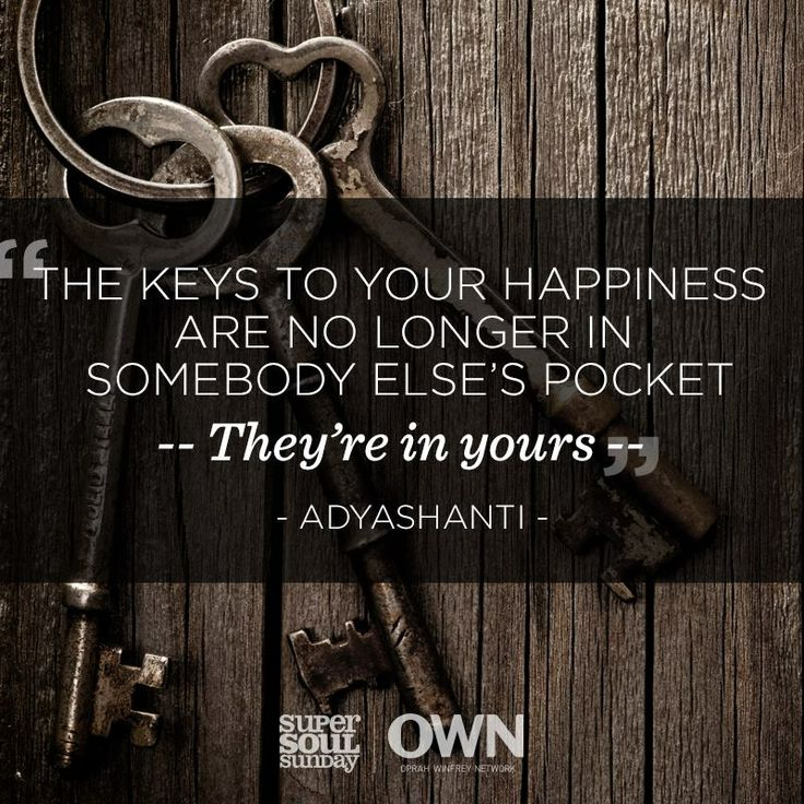 On Sunday, Adyashanti invites us to take charge of our life to create our own happiness. How do you unlock your happiness?