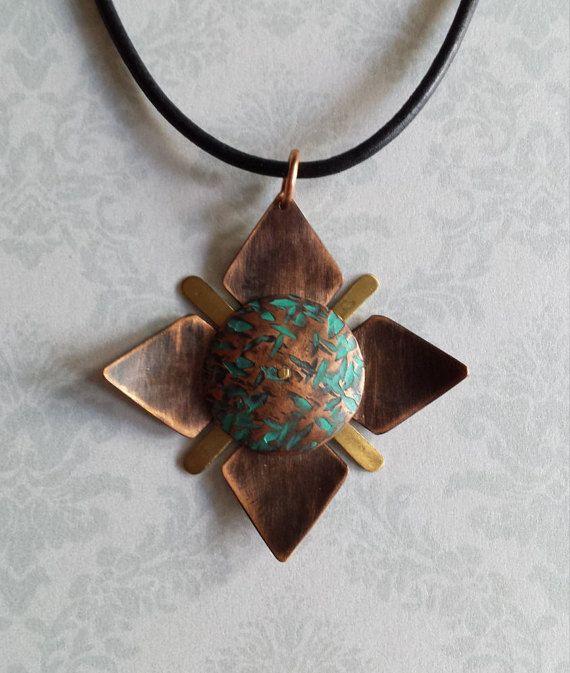 Flower Pendant Necklace || Pendentif fleur