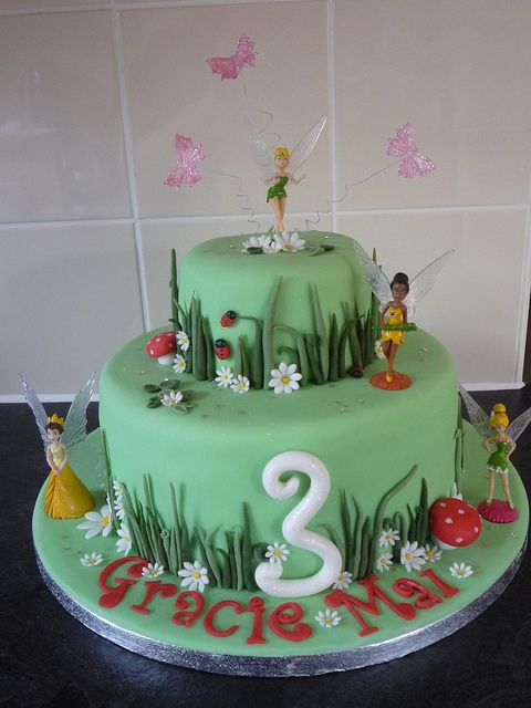 17 Best Images About Magical Garden Cakes On Pinterest