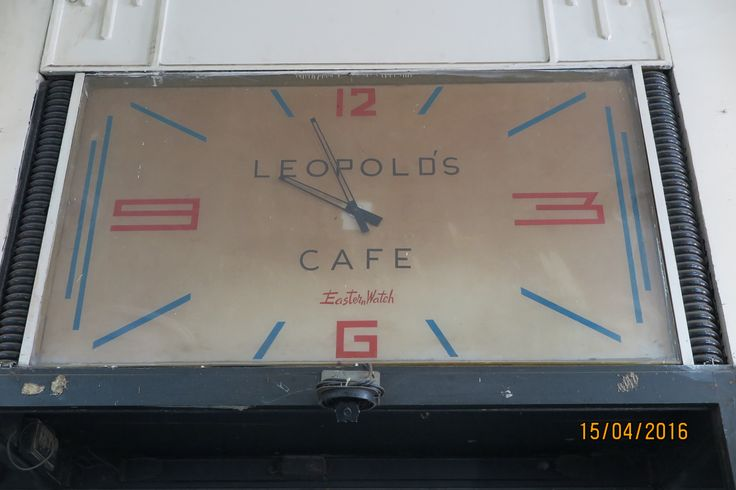 If you have read Shantaram the book you will appreciate this photo I took in Leopolds cafe.  Yes I got to have coffee there.
