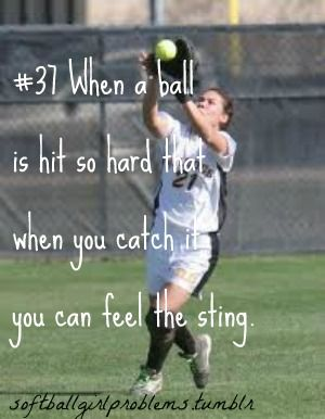 SoftBall Girl Problems