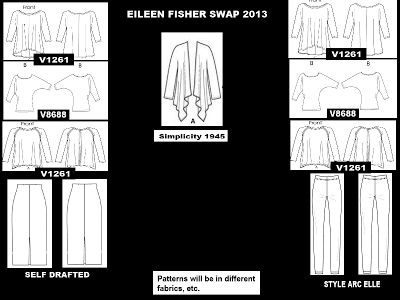 Love Eileen Fisher - What Patterns Would be Similar?