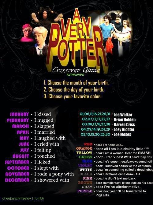 hahaha I married Darren Criss because next year I'll be transferred to Pigfarts!! <3 <3 <3