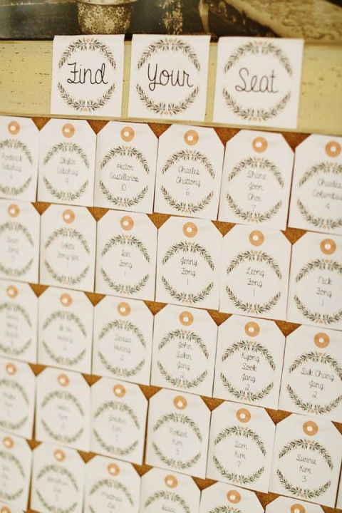 104 best Wedding Seating Chart images on Pinterest Wedding - wedding chart