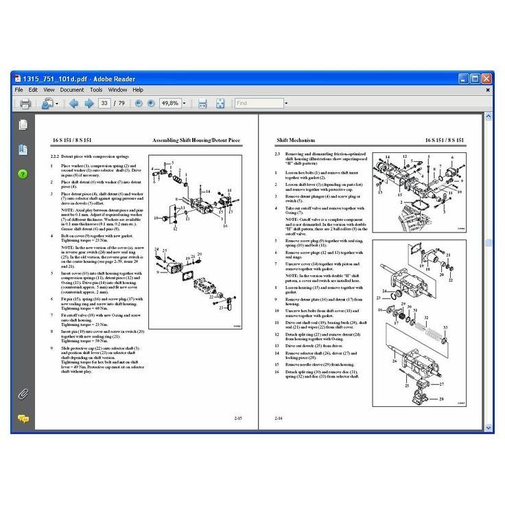 ZF Transmission Repair Manual Transmission repair
