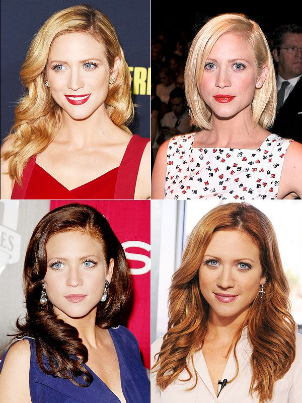 Brittany Snow hair color