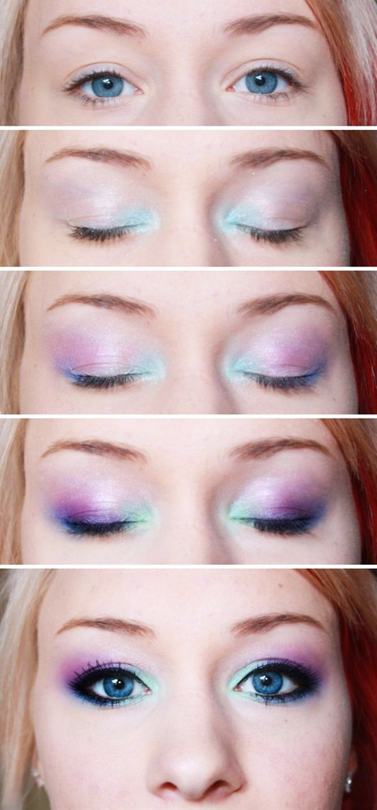 14 Easy Eyeshadow Tutorials For Perfect Eyes | Postris