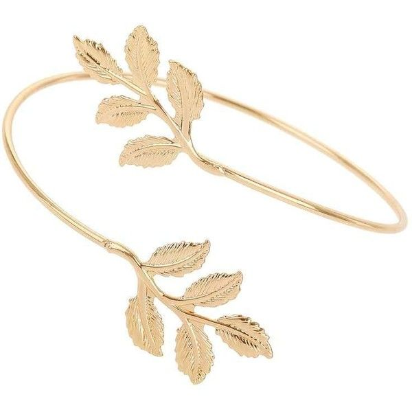 Miss Selfridge Leaf Wrap Arm Cuff ($13) ❤ liked on Polyvore featuring jewelry, bracelets, accessories, miss selfridge, gold color, arm cuff jewelry, wrap jewelry, leaves jewelry, gold tone jewelry and leaf bangle