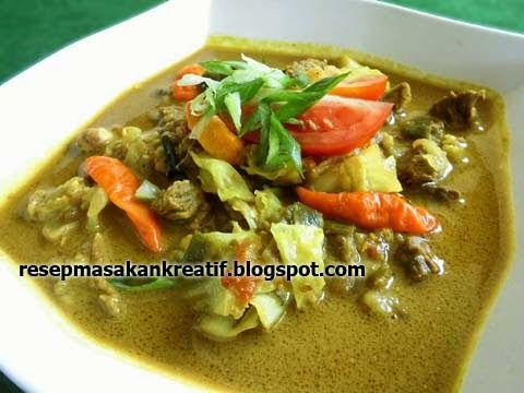 Tongseng Daging Sapi Santan | Resep Masakan Indonesia (Indonesian Food Recipes)