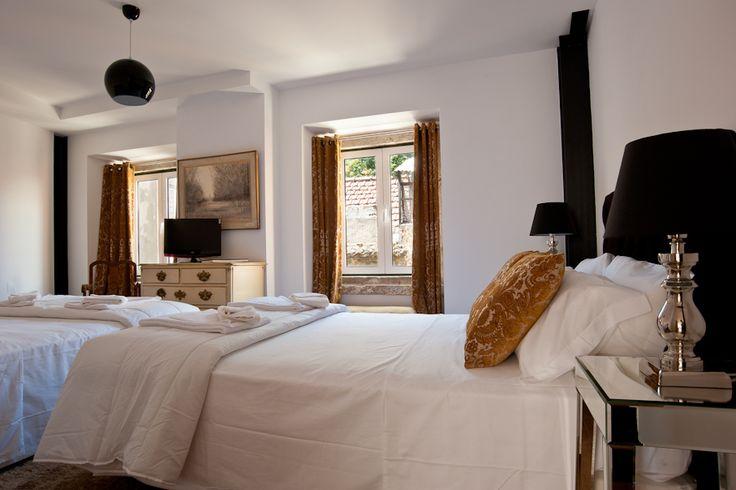 Our warm rooms! Os nossos quartos acolhedores.