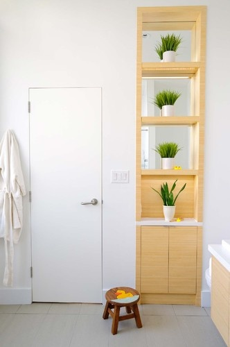 17 best images about cabinets bamboo bathroom vanities for Bamboo bathroom decorating ideas
