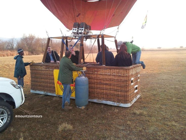 Spend a couple of hours with your family in a hot air balloon with #mountziontours in #Pilanesberg.