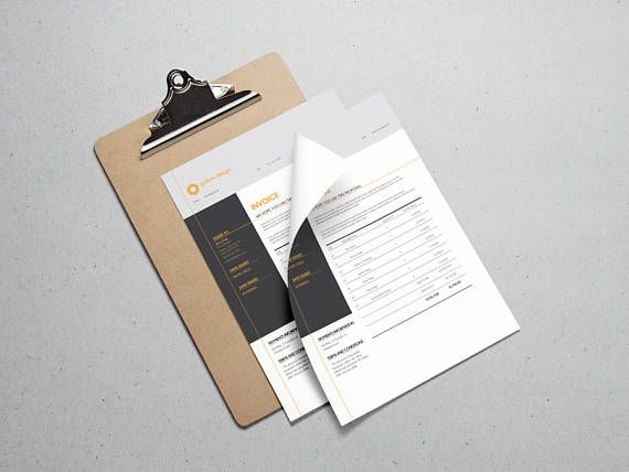 Invoice Template | Marketing Material | Template | Invoice | Receipt Template | Billing Template | Instant Download | Marketing Template