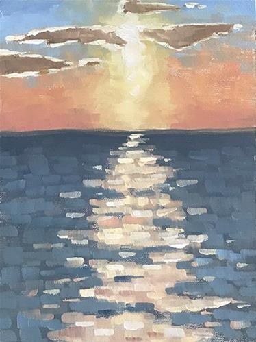 """Poipu Sunset"" - Susan Matteson"