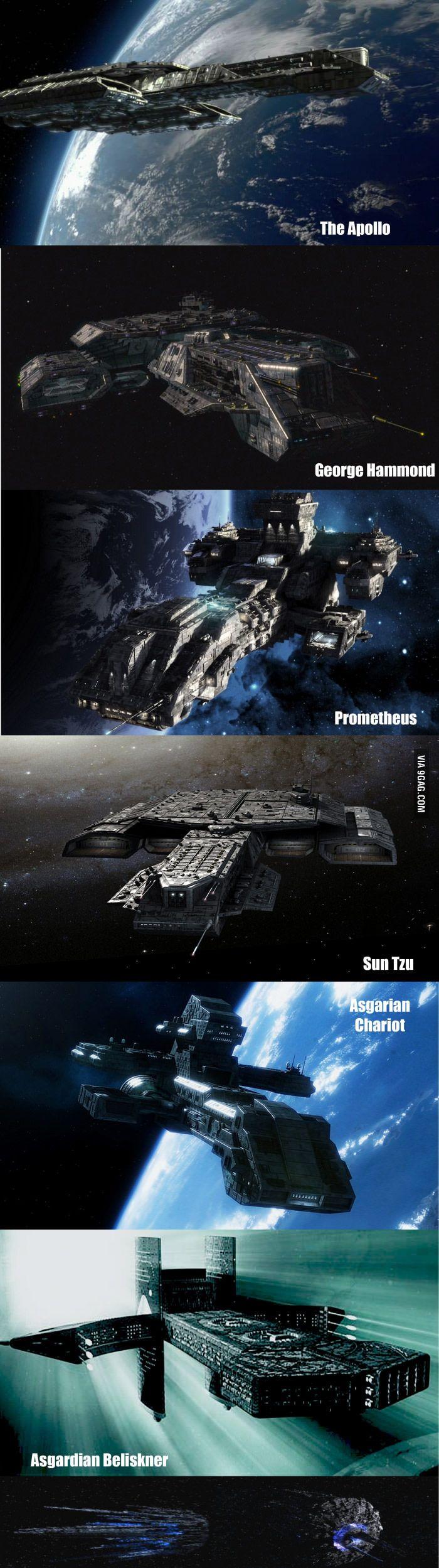 Stargate ships                                                                                                                                                                                 Mehr