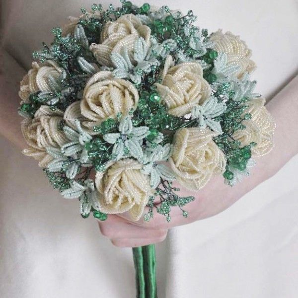 The bouquet I made for a really good friend who got married in 2008