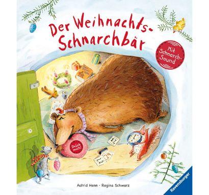 Der Weihnachts-Schnarchbär
