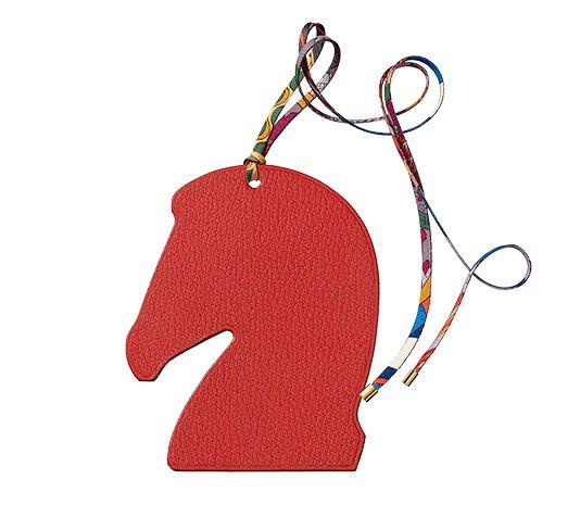 hermes birkin bags for sale - Herm��s Samarcande Hermes ornament in vermilion red Mysore goatskin ...