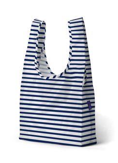 PrettyCoolBags sailor stripe einkaufsbeutel baggu