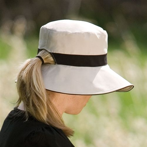Love The Ponytail Hole In This Hat Brilliant