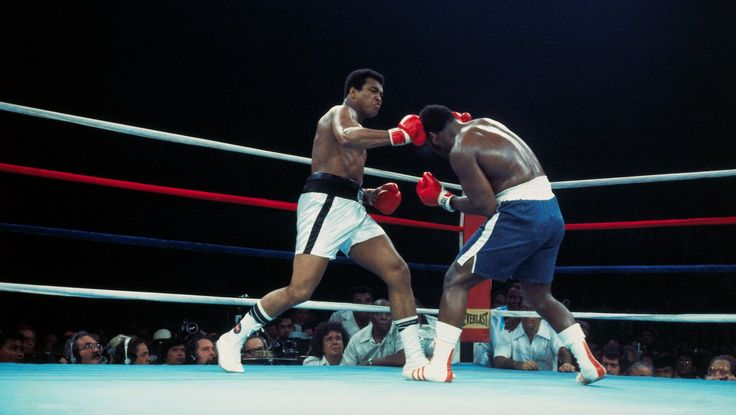 "It was perhaps the greatest boxing match in history.  Ali outlasted Frazier in the ""Thrilla in Manila"" 41 years ago today. (10/1)"