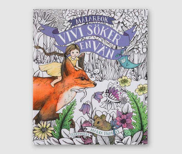 Vivi söker en vän – Colouring Book