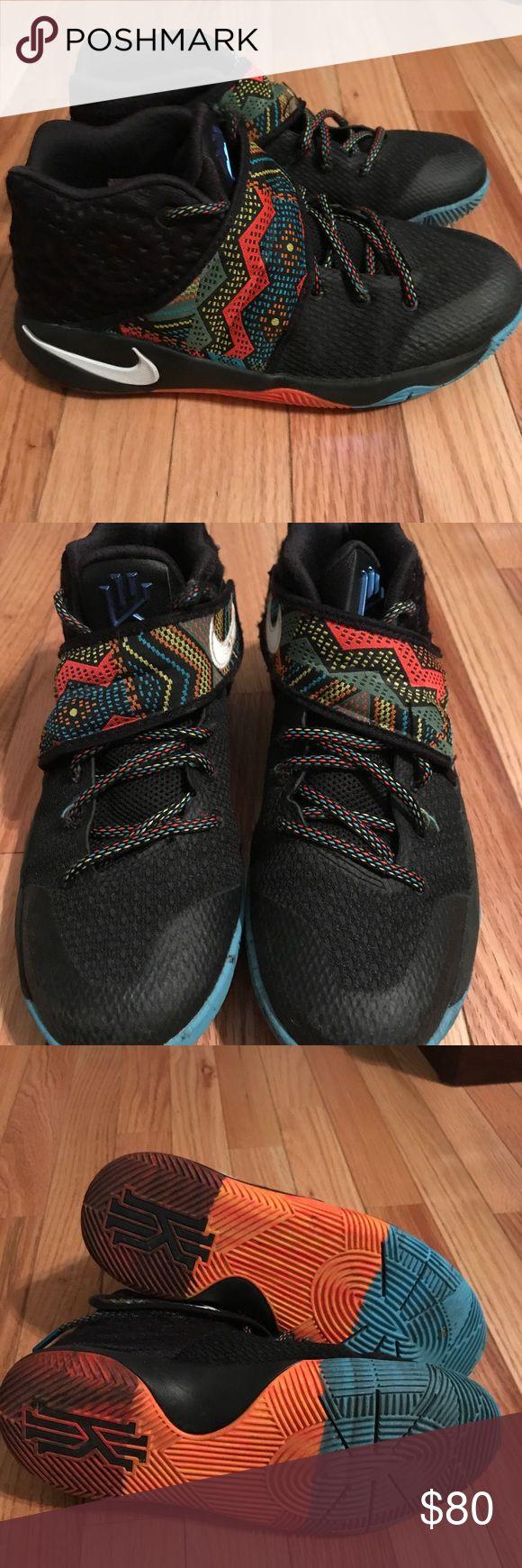 Kyrie Irving basketball Shoes Like new Kyrie Irving basketball shoes. Size 6.5 Youth. Literally worn twice. Kyrie Irving Shoes Athletic Shoes