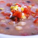 Clean Eating Three Bean Soup
