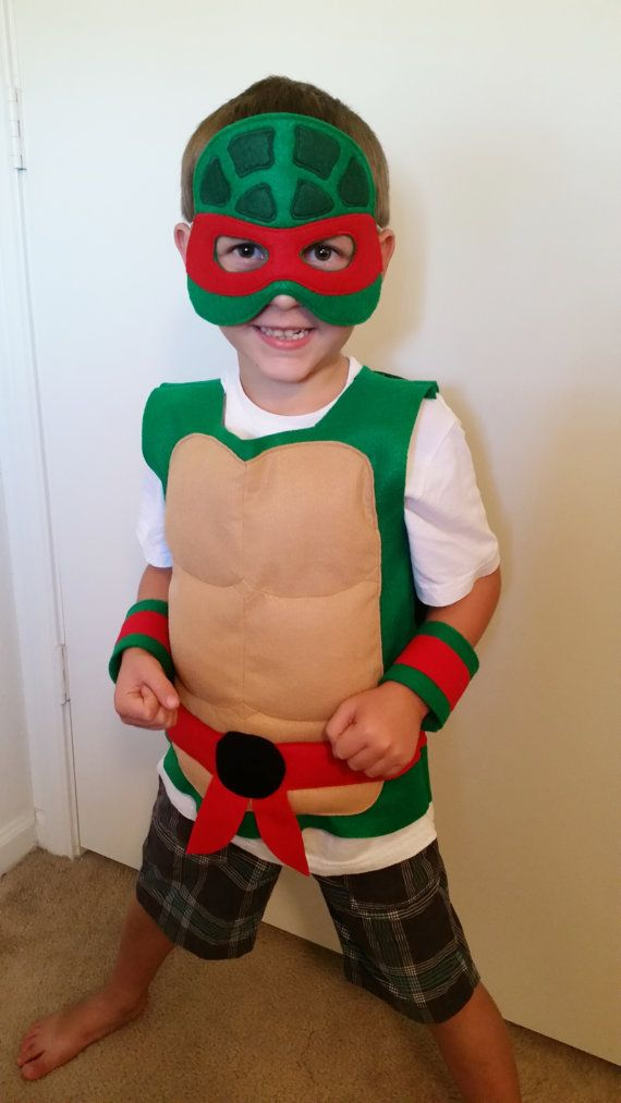 Ninja Turtle Costume by JulieMarieKids on Etsy