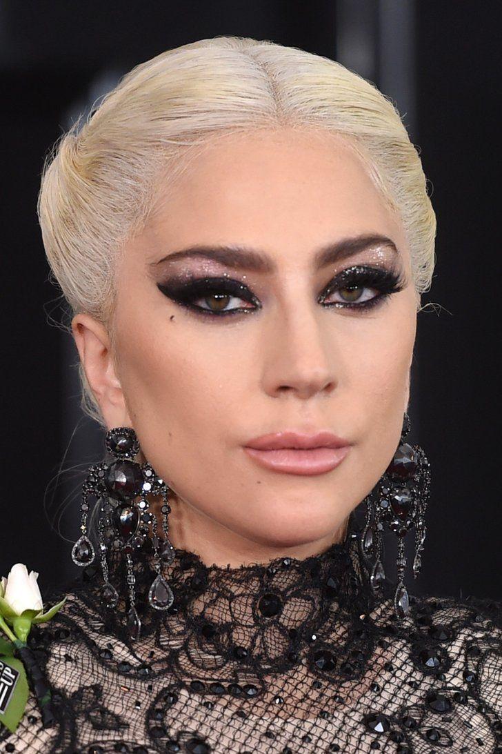 Lady Gaga's Grammys Hair and Makeup 2018