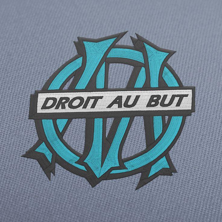 Olympique de Marseille old logo french soccer team of France. OM old logo embroidery Design Digital Instant Download. $3,95  #EmbroideryDesign, #EmbroideryDownload, #EmbroideryMachine, #EmbroiderySoccer, #EmbroideryFootball