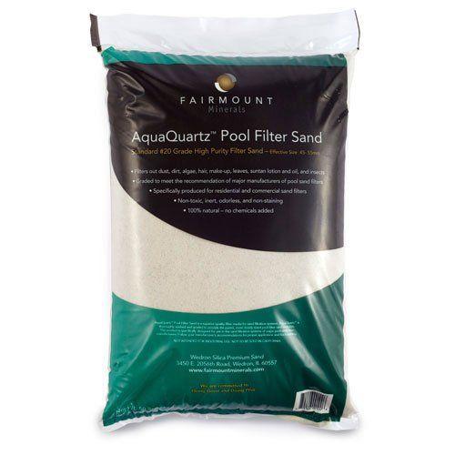 Sand in freshwater aquarium