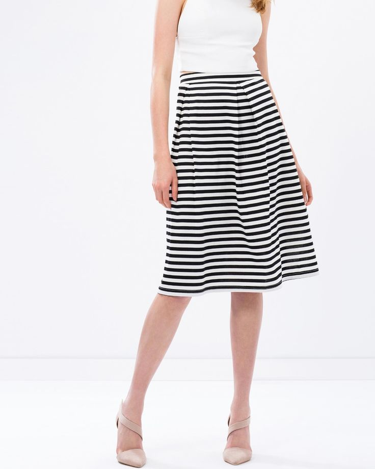Full Ponte Skirt by Atmos&Here. Tap image to see more at THE ICONIC.
