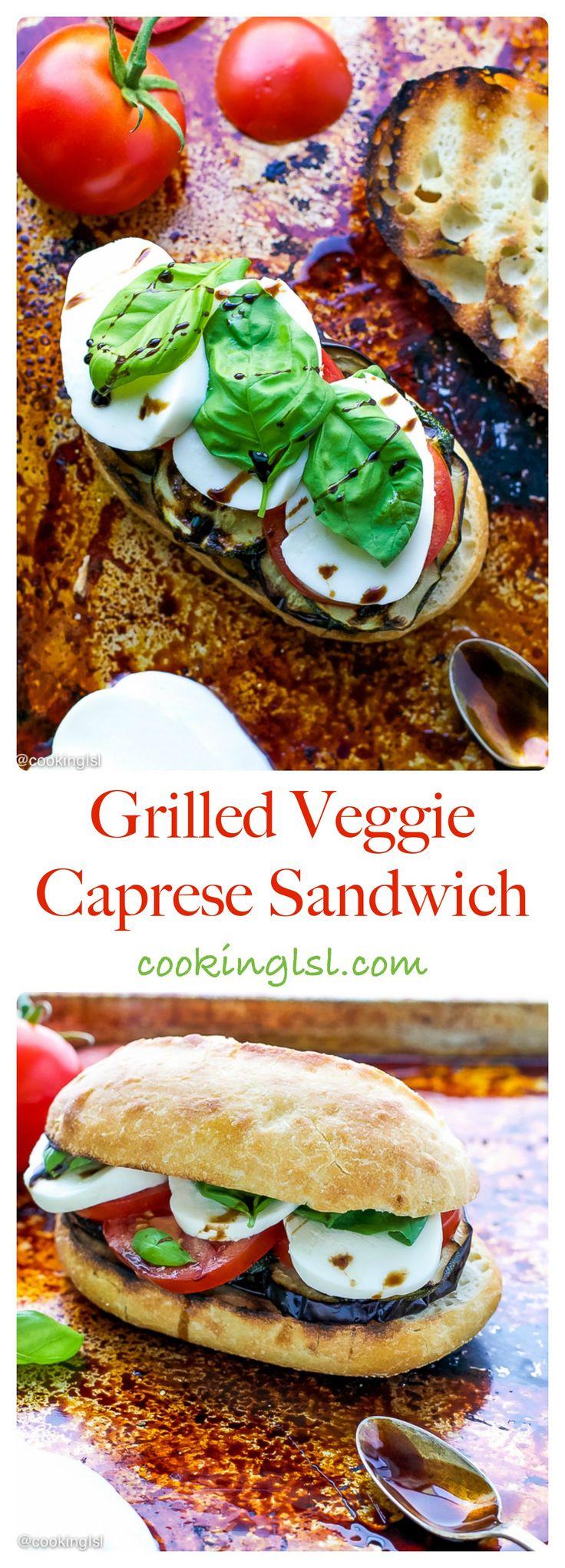 Grilled-Veggie-Caprese-Sandwich-Recipe  www.MarysLocalMarket.com Sustainable. Natural. Community. #maryslocalmarket