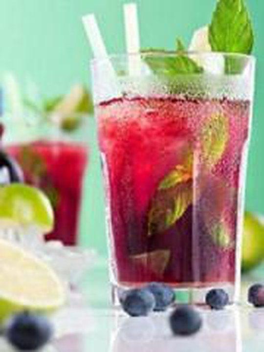 Cocktail sans alcool façon mojito