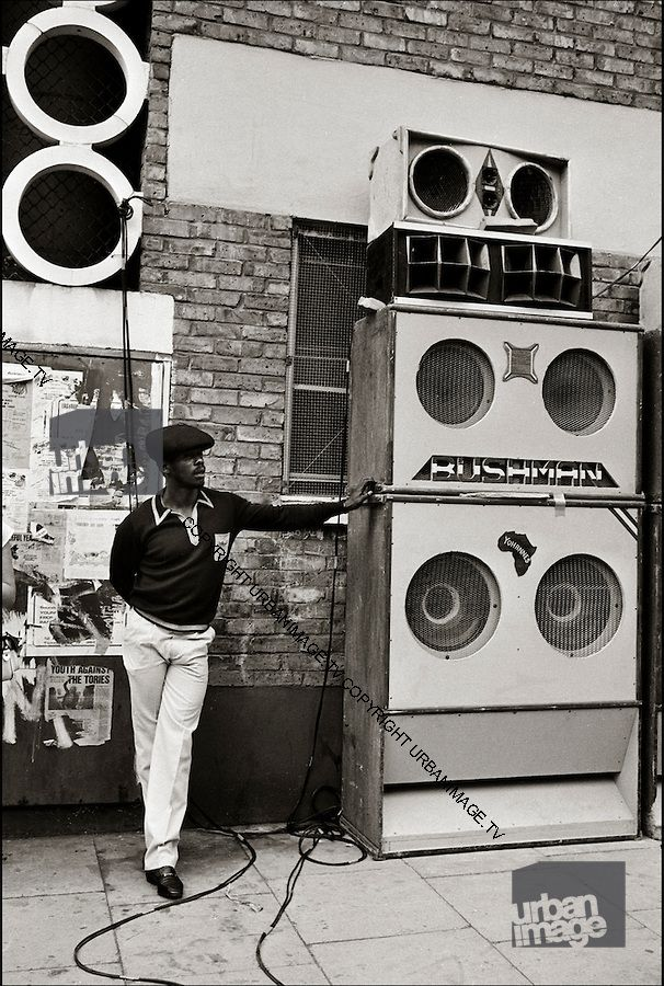 Now that's a sound system! Notting Hill, Early 90s