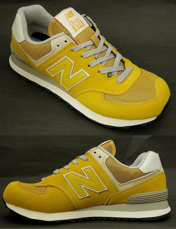 mustard yellow new balance