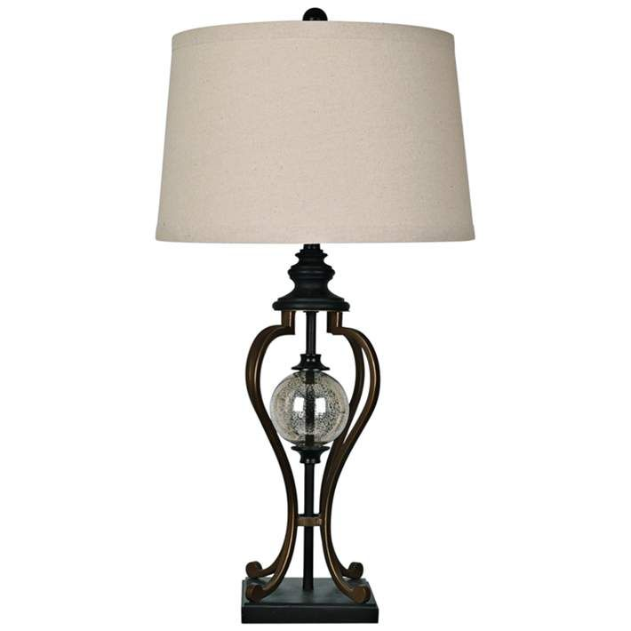 Crestview Collection Whitby Oil Rubbed Bronze Table Lamp 19x42 Lamps Plus Bronze Table Lamp Table Lamp Lamp Oil rubbed bronze table lamps